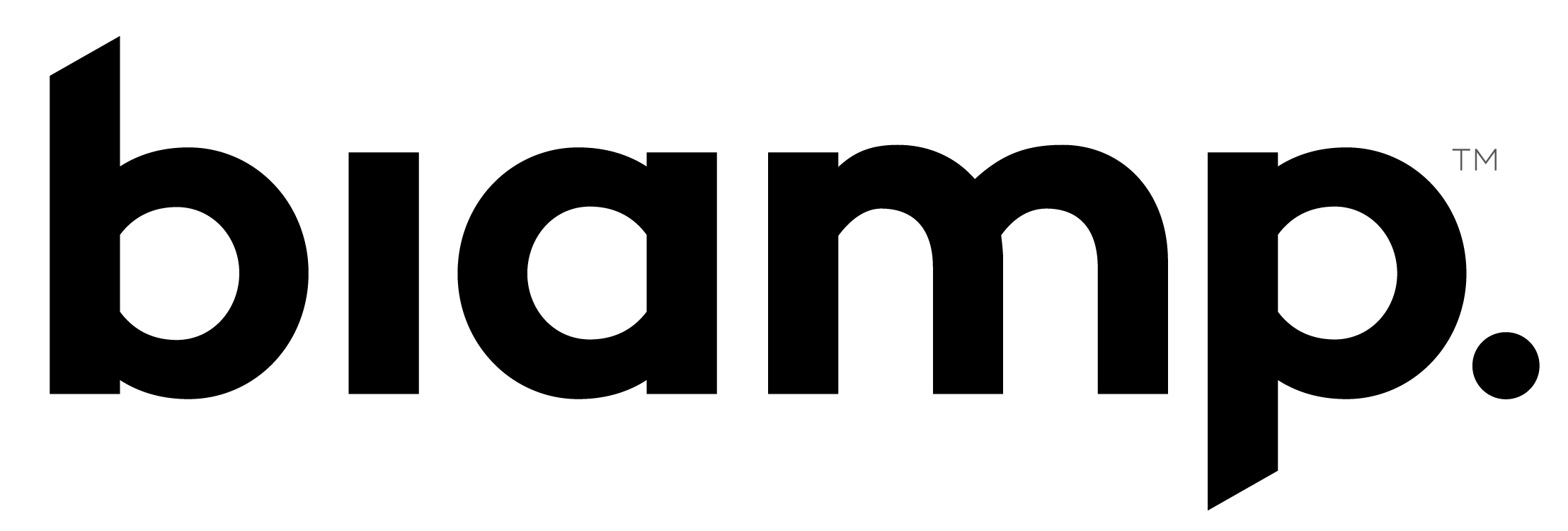 Biamp Logo Black