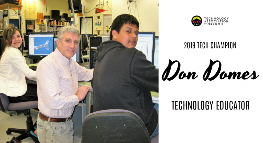Don Domes Tech Champion