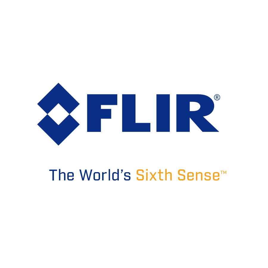 FLIR LogoTagline Stacked Blue