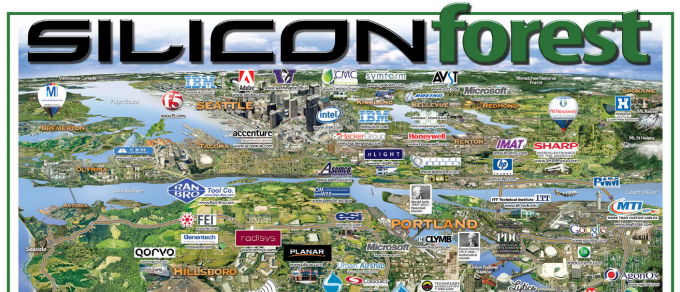 Silicon Forest Map