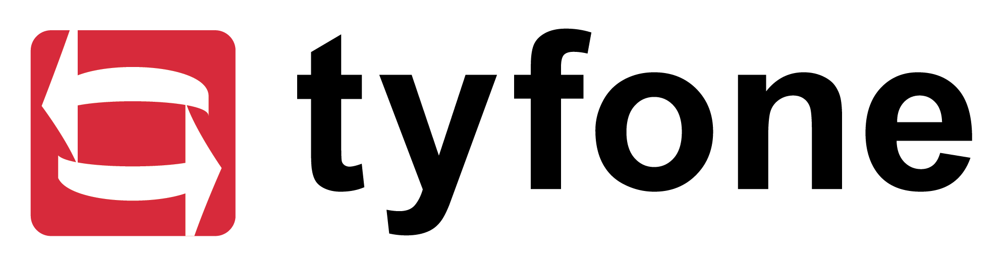 Tyfone logo blk txt trans bg