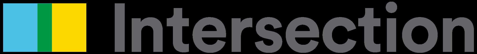 intersection logo grey