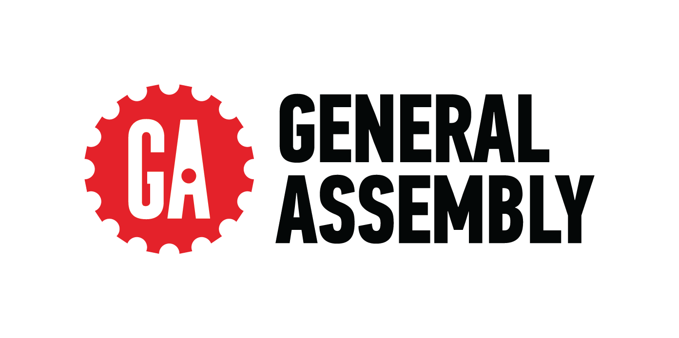 CMYK Red Black Small GeneralAssembly Stacked