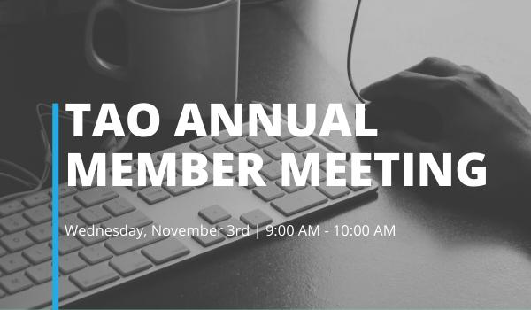 Annual Member Meeting website