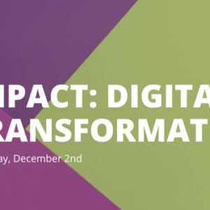 IMPACT Digital Transformation Header 600 x 350 px